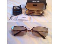 Genuine ladies Chanel sunglasses