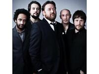 2 tickets to see Elbow at Genting Arena Birmingham
