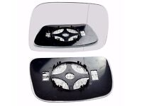 Right Driver Side WIDE ANGLE HEATED WING DOOR MIRROR GLASS For Volvo XC60 06-13