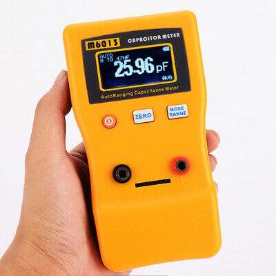 Digital Auto Ranging Capacitance Meter Capacitor Tester 0.01pf To 470000uf