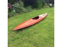 3 fibreglass canoes, 2 with paddles will sell separately or together