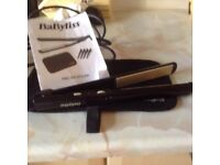 Babyliss hair straighterners