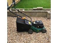 Petrol lawn mower - 40cm blade, 118cc, 50L bag lawnmower