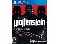 PS4 - WOLFENSTEIN THE NEW ORDER - NEW - £10
