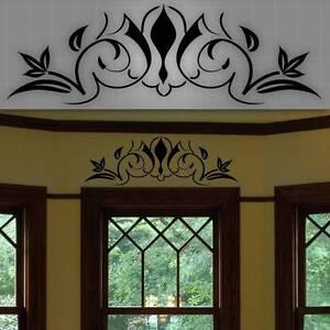 decorative window accent decal door accent sticker wall