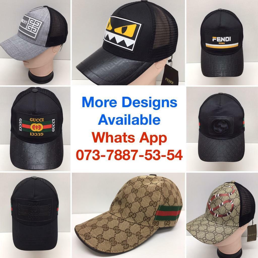 e7471d684 2 for £50 Gucci Hats Armani Caps Fendi Versace Prada Tshirts designer  t-shirts clothing london cheap