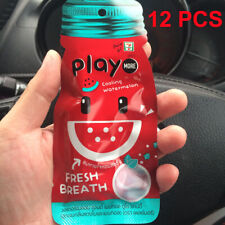 12 PCS Play More Fresh Breath Cooling Watermelon and ...