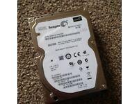 2 x 160GB 1 x 320GB SATA Hard Drive £5 Each - (3 availible)