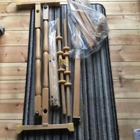 Wooden frame tapestry kit