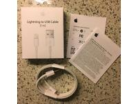 100% Genuine Boxed Official Apple iPhone 7, 6S, 6S Plus, 6, 6 Plus, 5, 5S,5C 8pin Lightning cable