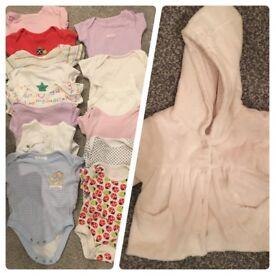 Large bundle newborn clothes