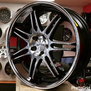 18x7.5 5x100 +45 Rims Wheels for Subaru WRX legacy (4 New $750 Tax in ) @Zracing PH 905 673 2828