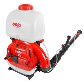 Solo 451-02 66.5cc 21L Petrol Backpack Chemical Mist Sprayer MADE IN GERMANY + WARRANTY! RRP £700!