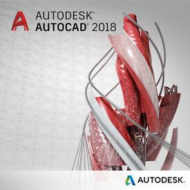AUTODESK AUTOCAD 2018 -PC/MAC-