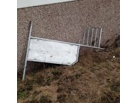 Partition for Horse box or trailer