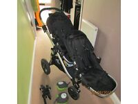 Baby jogger city select double pushchaire REDUCE PRISE
