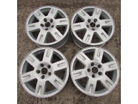Ford 16 Inch 5 Stud Alloy Wheels x 3 Fit Mondeo Focus Smax Cmax + Others