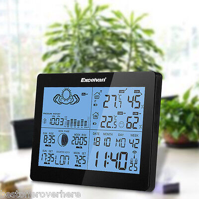 Weather Station Precision Forecast Temperature Humidity Barometer For European