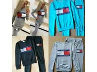 Women Tommy Hilfiger Tracksuits All Colours & Sizes Available