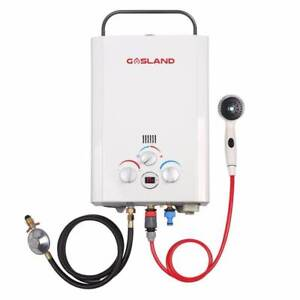 SALE! Portable Gas Hot Water for Camping WITH Pump - DELIVERED