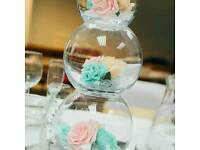 Wedding decor(Chair Covers and Sashes,Table Covers,Center Pieces and more)and Catering from £1.00