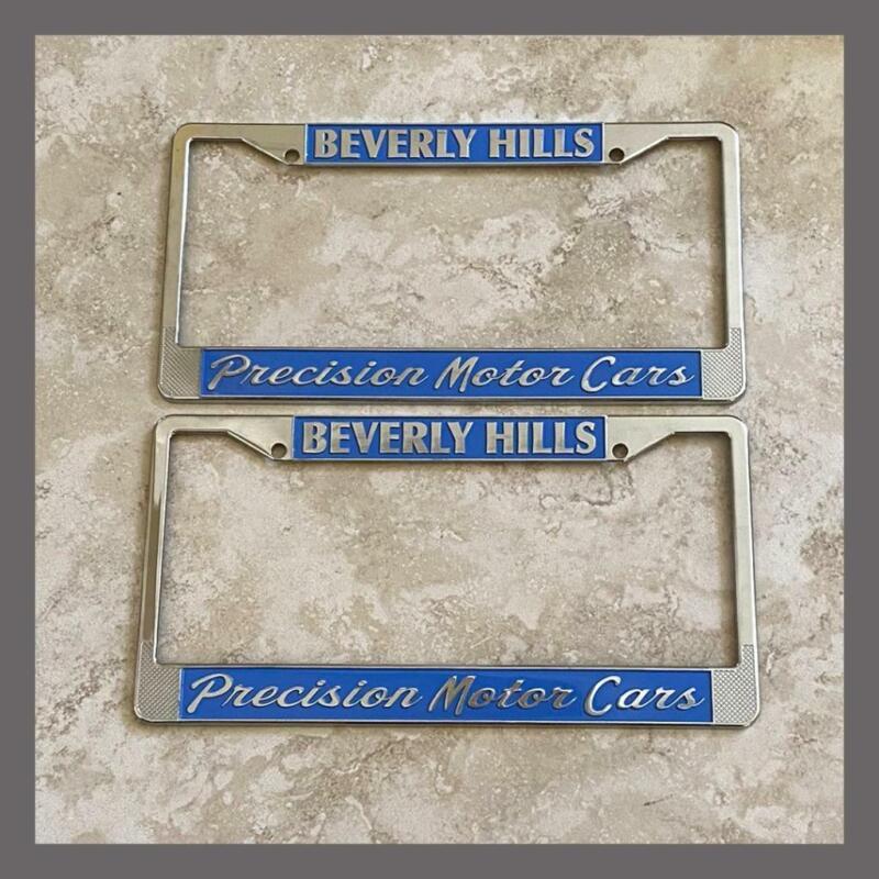 Precision Motor Cars Porsche VW Volkswagen License Plate Frames Beverly Hills CA