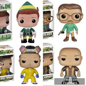Pop vinyls (new)