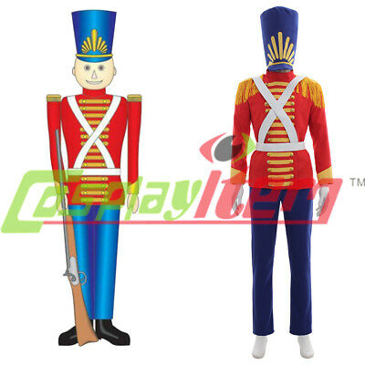 Toy Soldier Nutcracker Christmas Child adult Costume Cosplay Costume custom made