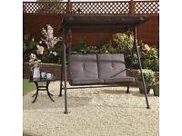 NEW Capri 2 Seater Swing Chair Outdoor Garden Furniture Swings SeatRRP£150