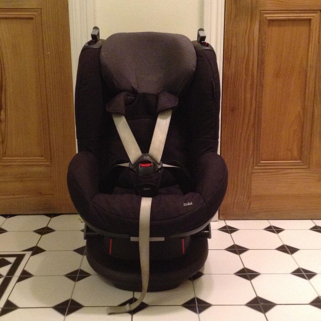Maxi-Cosi Tobi Black Car Seat (Group 1, for child 9-18 kg ...