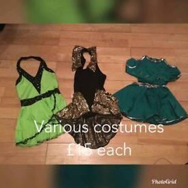 Child tap costumes