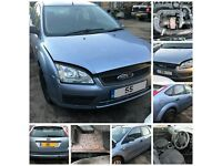 Ford Focus Diesel Mk 2 hatchback 1.6 TDCI LX 2005-2008 Manual Blue Z3 for parts