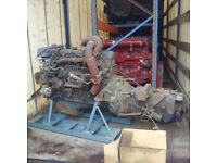 VOLVO TD70 6 cylinder diesel engine and gearbox for VOLVO F7 / N7 truck.