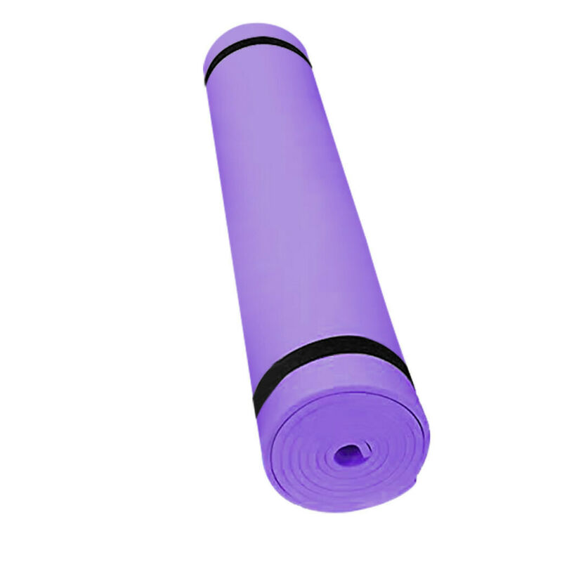 4/10MM Yoga Mat Non-slip Durable Fitness Gym Extra Mats