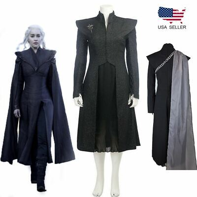 Women Of Game Of Thrones (Game of Thrones Daenerys Targaryen Mother of Dragons Cosplay Costume Suit)