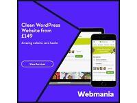 WordPress Website Design From £149