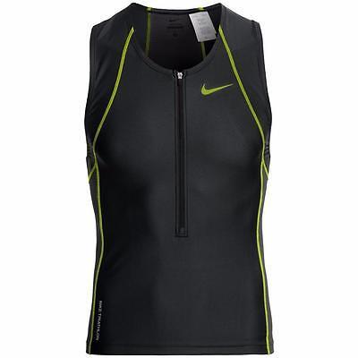 Nike Tri Suit Swim Top Quick-Drying Light Weight Running/Triathlon Men's XS New