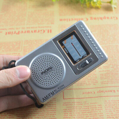 Compact Portable Radio AM/FM Battery Operated Receiver Transistor Best