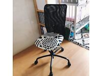 Like NEW IKEA office chair black and white sold out design