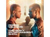 Robbie Williams Tickets X 2 ETIHAD Sat 3rd June