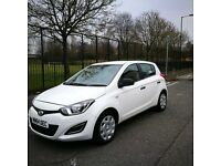 Hyundai i20 classic 1.2 petrol 5 do hatchback 2014 full service ,warranty 11.500 mileage (n)