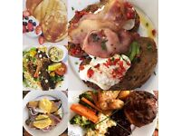 Looking for chef 4-5 days a week for high-quality brunch/lunch cafe