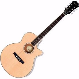 ***PRICE DROP***Guitar, semi acoustic,brand new epiphone cutaway, amp, lead, strap, pics, tuner