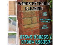 **Low Cost** Professional Exterior Cleaning Service