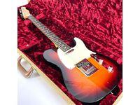 2009 Fender Custom Shop Deluxe Telecaster w/ Birdseye Maple Neck – Sunburst