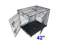 Extra Large Ellie-Bo Folding Dog Crate / Cage