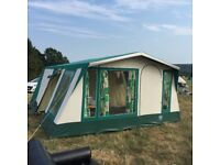 Sunncamp Palace TENT large 7 plus /3 bed