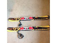 Solomon snowblades length 1 metre only used for 1 week