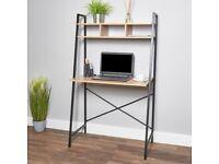 Cute wooden ladder desk