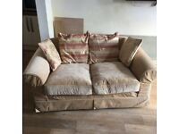 Large 2 Seater Sofa with removable covers